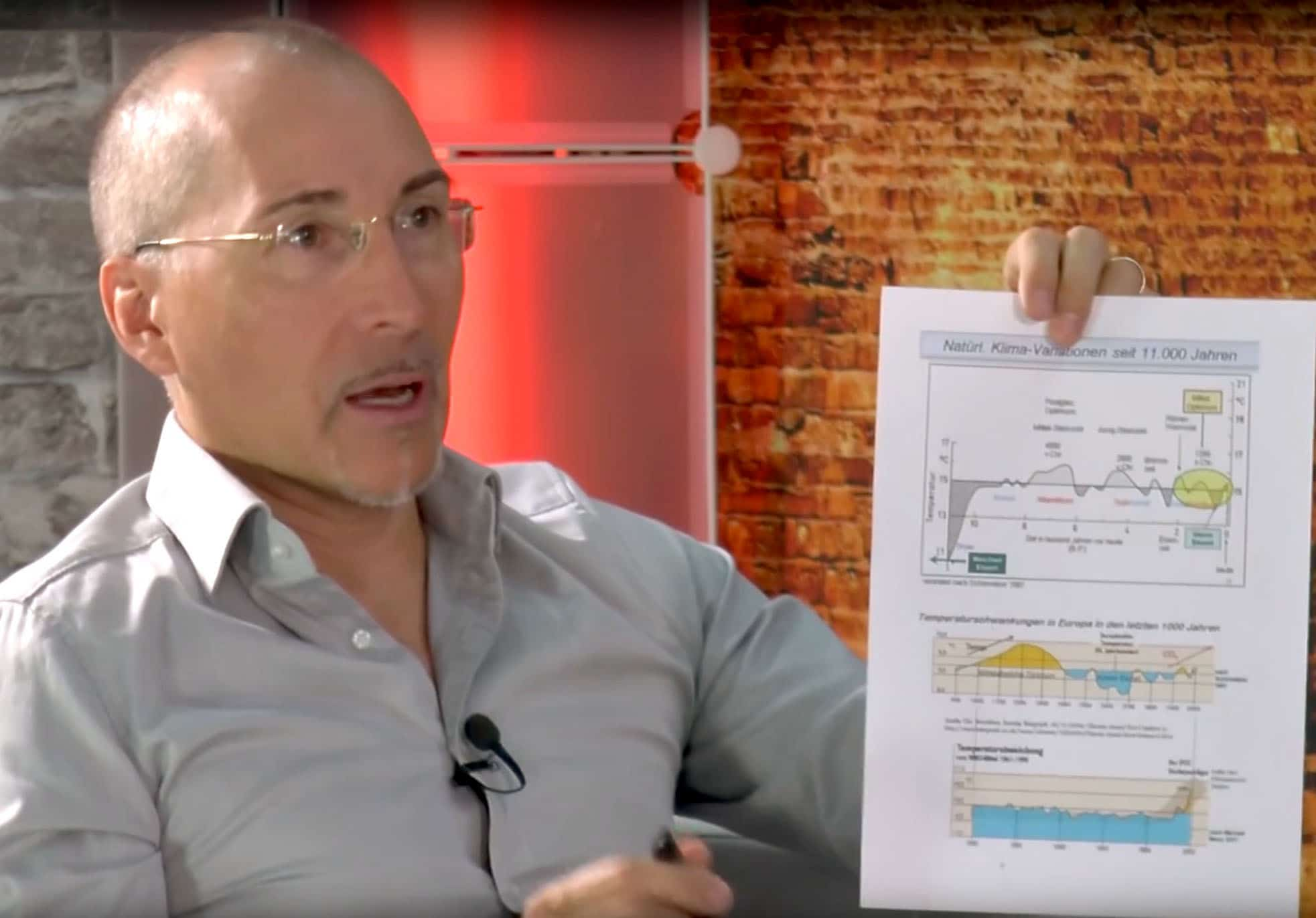 German Climatologist Unloads: 'IPCC Is To Deceive People', Hockey Stick Graph A Fake